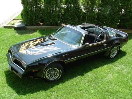 77-78 Pontiac Trans Am.  Bandit's ride.  ;)