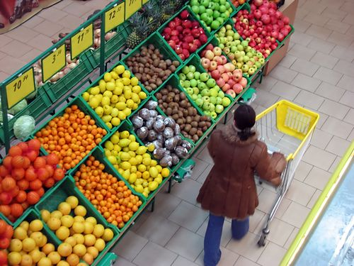 Supermarket Fruit Aisle
