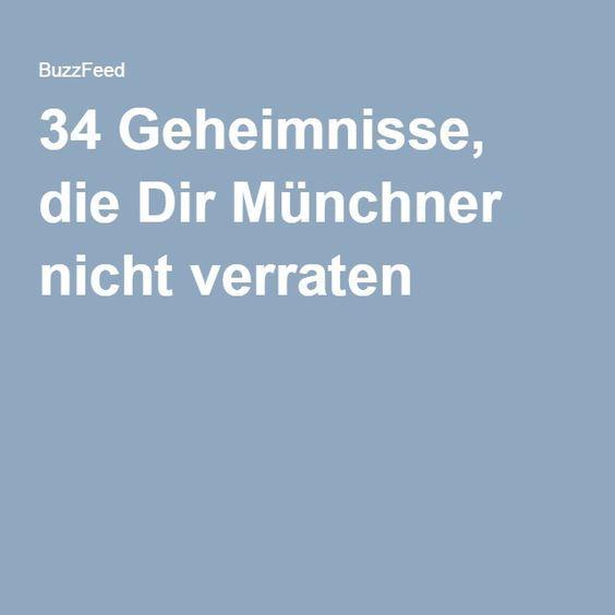 34 Geheimnisse, die Dir Münchner nicht verraten