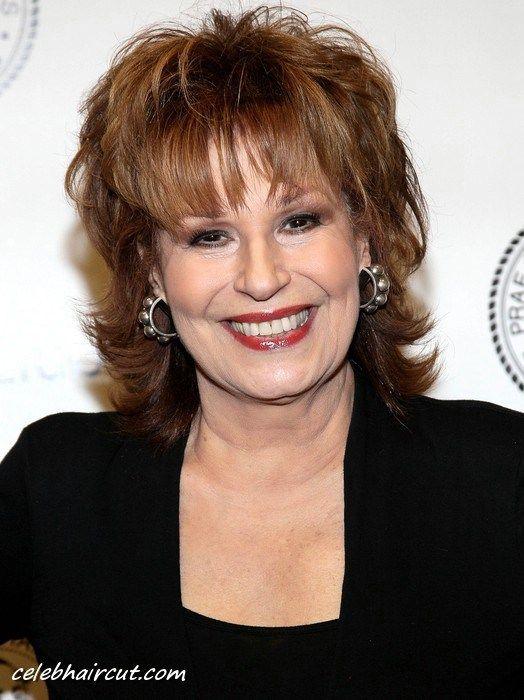 Joy Behar Medium Hairstyle for Women Over 60