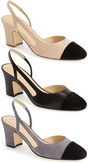 ivanka trump shoes block heel low ankle sprain 739768