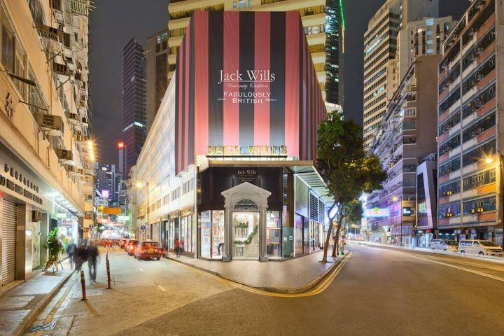 This is the first Jack Wills store in Asia; a personal milestone for us as a business and for me personally as lead store designer. Jack Wills, Causeway Bay, Hong Kong.