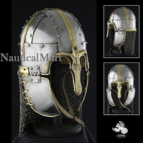 Medieval Coppergate Deluxe Helmet By Nauticalmart NAUTICA... https://www.amazon.com/dp/B06XXXGKH8/ref=cm_sw_r_pi_dp_x_Kfm3ybVS9Z41Y