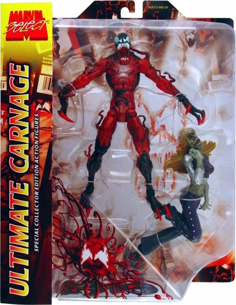 Marvel Select Ultimate Carnage Action Figure ... Ultimate Carnage Toy