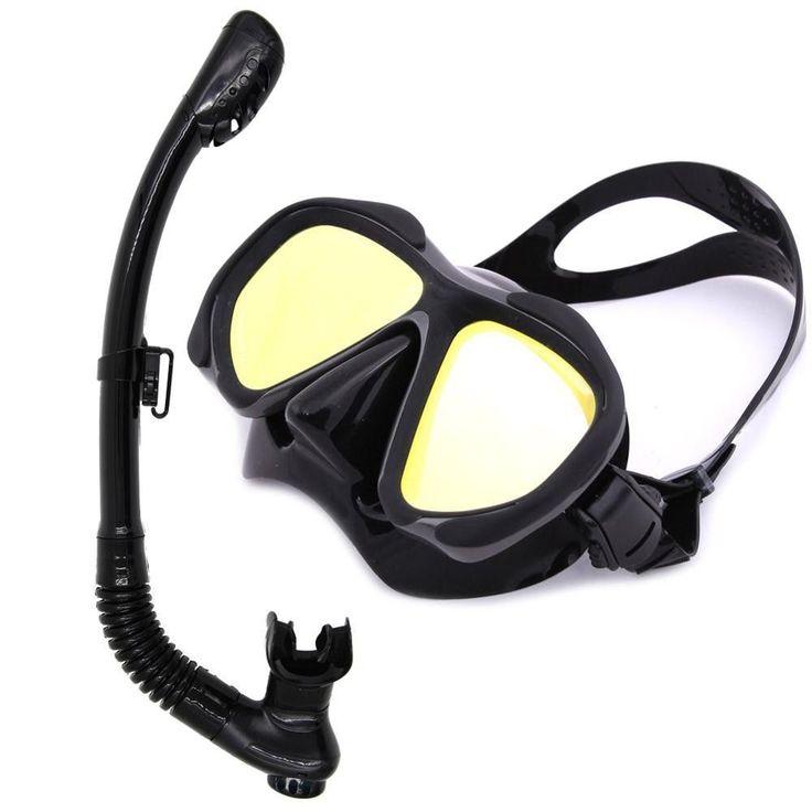 Whale Unisex High Quality mirror lens diving Mask Snorkel set scuba diving gear mask and snorkel set MMK2600+ SK100 #ScubaDivingEquipmentandSites #scubadivinggearmasks