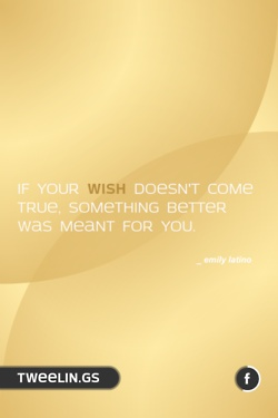 Tweeling of the Day #77    If your wish doesn't come true, something better was meant for you.Tweeling