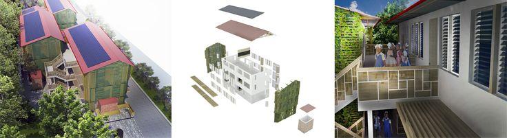 Centre Rosalie Javouhey Phase 1 External Renders © 2011 - 2013 Thinking Development