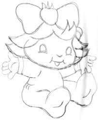 Resultado de imagem para como pintar bebe moranguinho em fralda