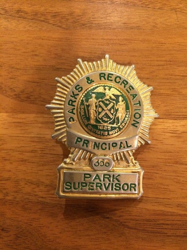 Principal Park Supervisor, Department of Parks & Recreation, City Of New York