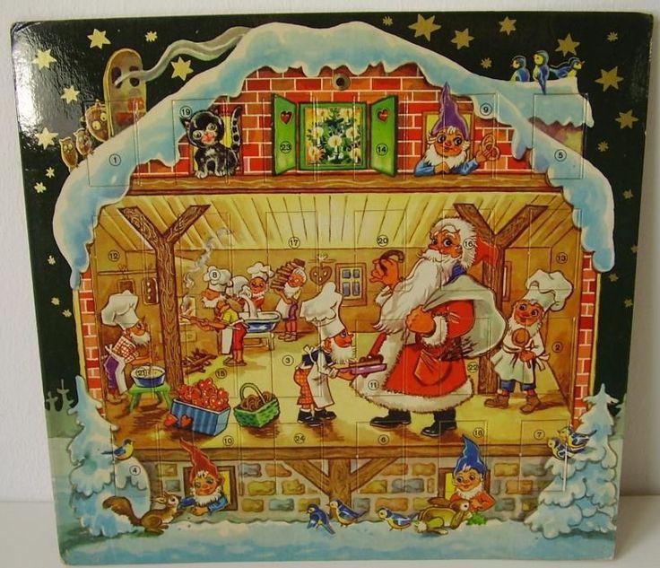 307 best alte adventskalender images on pinterest advent. Black Bedroom Furniture Sets. Home Design Ideas