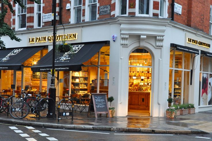 Le Pain Quotidien Marylebone High Street, London - Bakery & Communal Table...