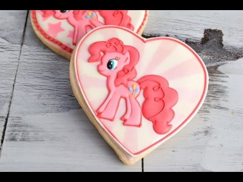 I made My Little Pony Cookies. In this video I show you step by step how make cute Pinkie Pie Cookies. Enjoy. I love to bake, decorate cookies, cakes, cupcak...