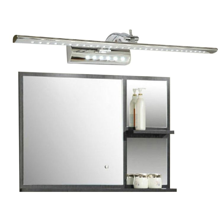 cheapest 7W Bathroom LED Mirror Light AC220V SMD5050 Stainless Steel Dressing Table Sconces LED Wall Lamps with Switch - ICON2 Luxury Designer Fixures  cheapest #7W #Bathroom #LED #Mirror #Light #AC220V #SMD5050 #Stainless #Steel #Dressing #Table #Sconces #LED #Wall #Lamps #with #Switch
