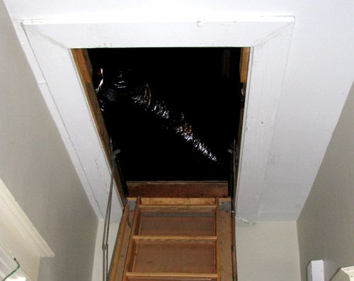 Insulating Attic Stairs Info Attic Attic Doors Attic