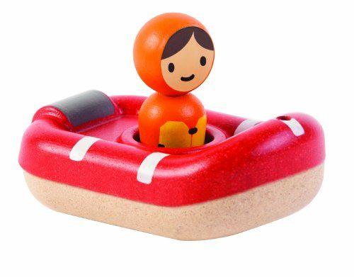#bebe PlanToys – Barco de guardacostas, juguete de baño (5668)