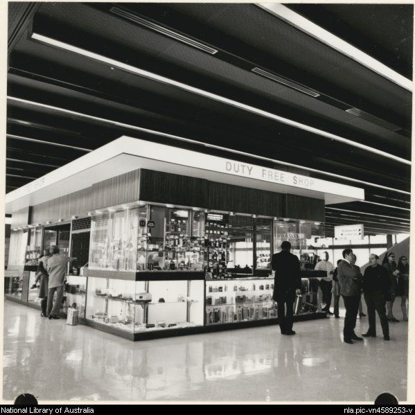 Edwards, Don. The duty free shop for international travellers, Melbourne…