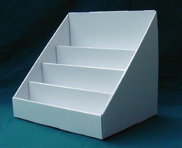 Cardboard card stand