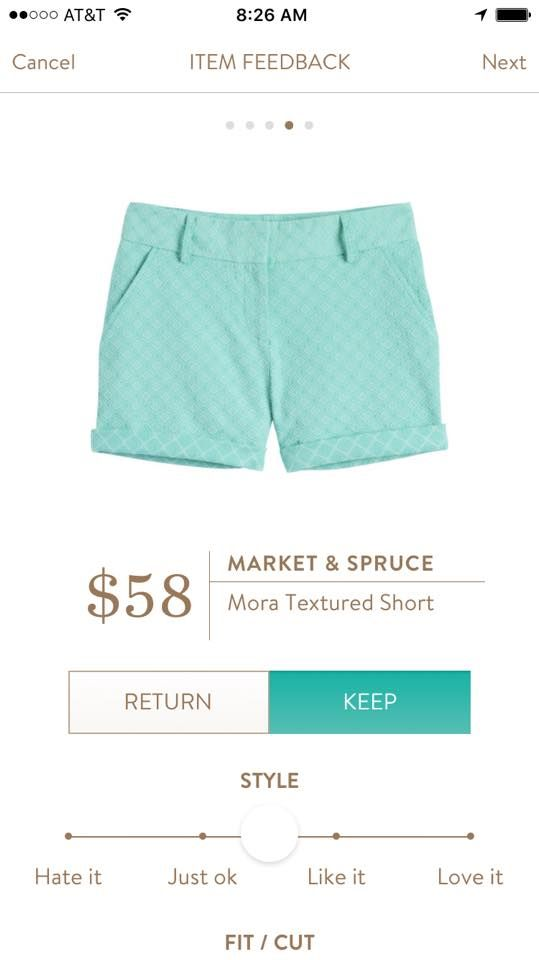 I REALLY need to beef up my collection of shorts for spring/summer. These Market and Spruce Mora Textured Shorts are super cute and fun looking