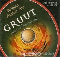 Label van Gruut Amber Ale