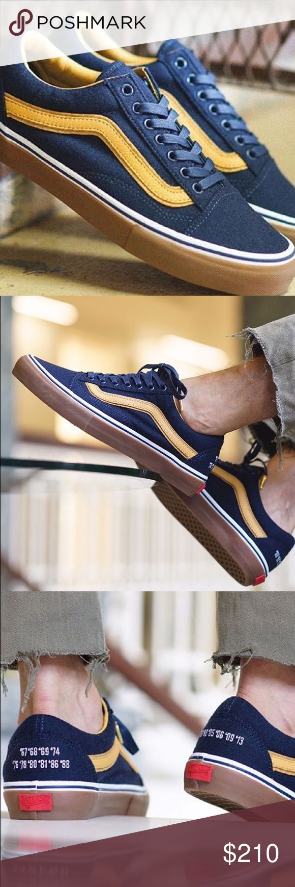 Vault By Vans Sole Classics Old School LX St. Palladius High School Irishmen Vault By Vans Sole Classics Old School LX Dress Blues. Limited Edition Deadstock released 7.15.17. Brand new, in box. 100% Authentic. Final Sale. Ships next business day. Vans Shoes Sneakers