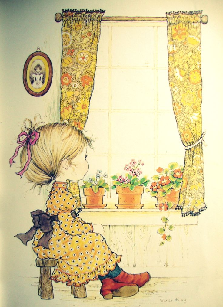 Sarah Kay, Holly Hobbie illustration