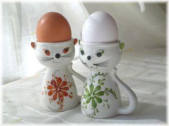 Vintage egg cups made in Portugal Panek