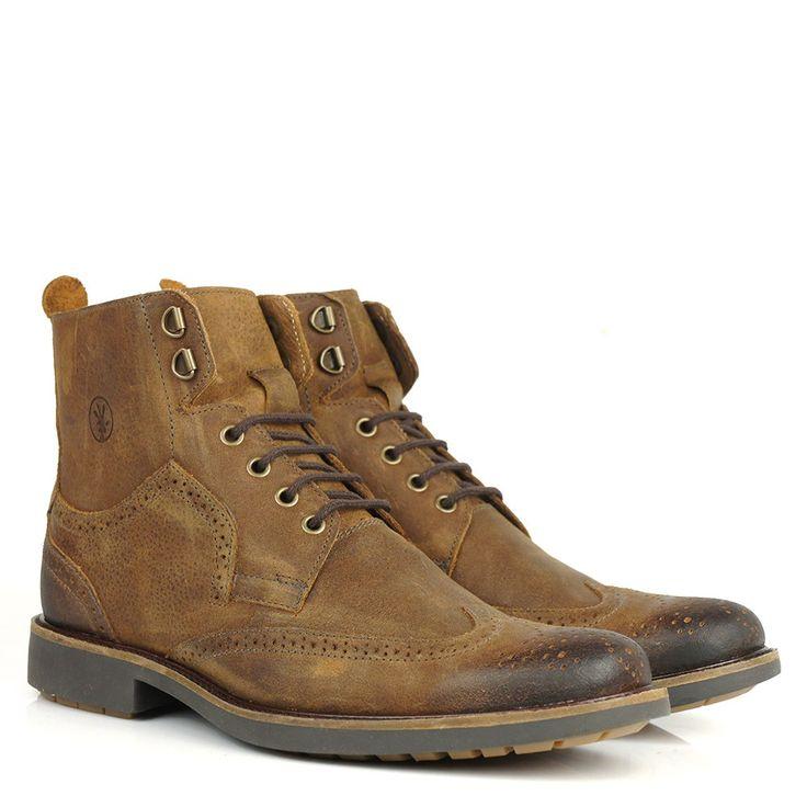 Black Boots - Bota Black Boots Oxford Anatomic Gel 9099 Havana - BlackBoots