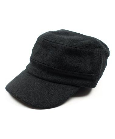698e4438dfe Look what I found on Black Wool Cadet Hat - Infant