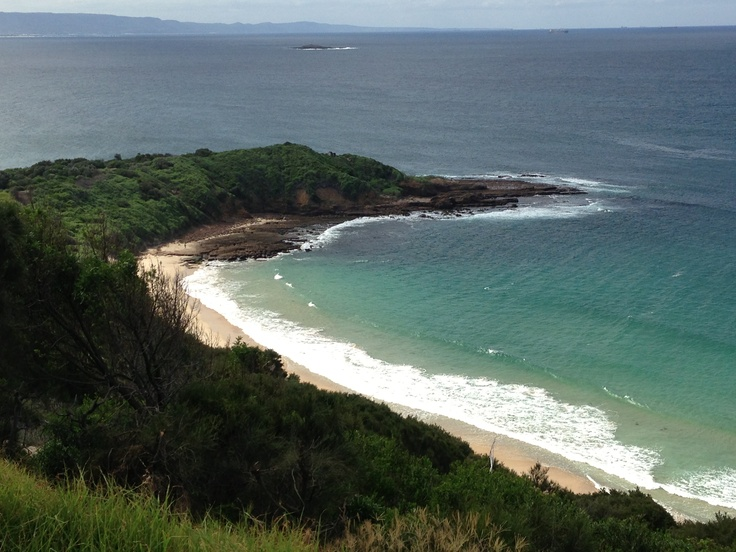 View from Hill 60 over MM Beach