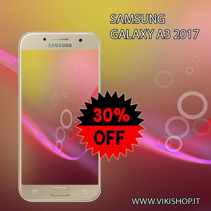 Acquista Samsung Galaxy A3 2017 16gb nero in Offerta!!! https://lnkd.in/f2GqmEg #samsunga3 #galaxya3 #a32017oro #samsunga3oro