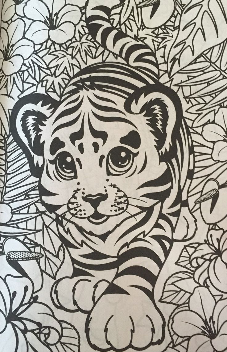 Disneys recess coloring pages - Lisa Frank Coloring Book