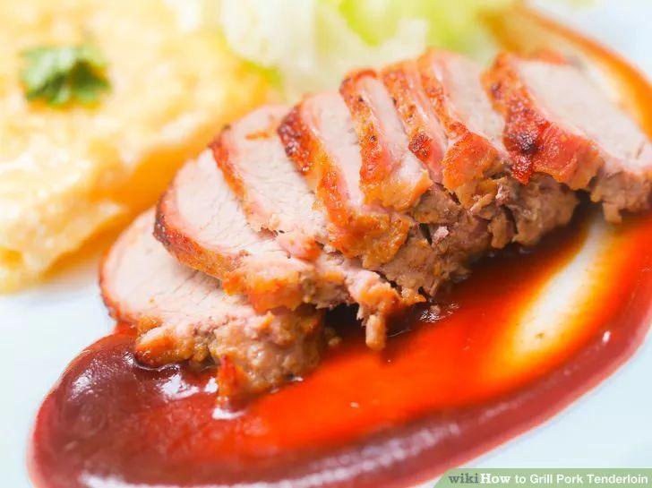 Image titled Grill Pork Tenderloin Step 11