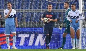 """Godiamoci il Goal Gabbiadini """"Lazio-Napoli 1-1″ (VIDEO)"""