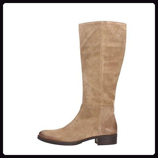 Geox D3490P00023 Stiefel Damen Wildleder Taupe 41 - Stiefel für frauen (*Partner-Link)