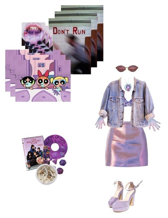 """""""purple chills"""" by stfu-its-becky ❤ liked on Polyvore featuring CO, Ash, BUSCEMI, Chanel and Christian Dior"""