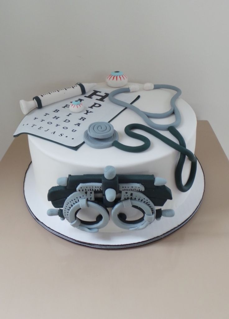 Eye doctor cake Optometrist cake