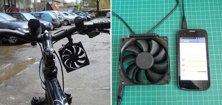 Chico de 16 años inventa un cargador eólico para celular - Ecocosas