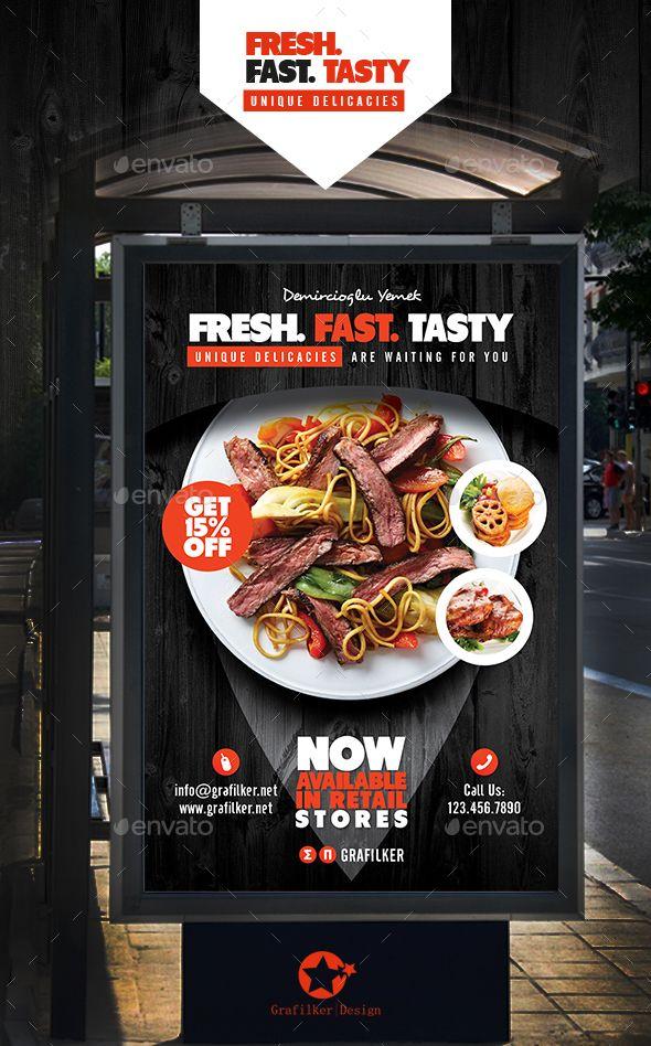 Best 25+ Restaurant poster ideas on Pinterest | Restaurant flyer ...