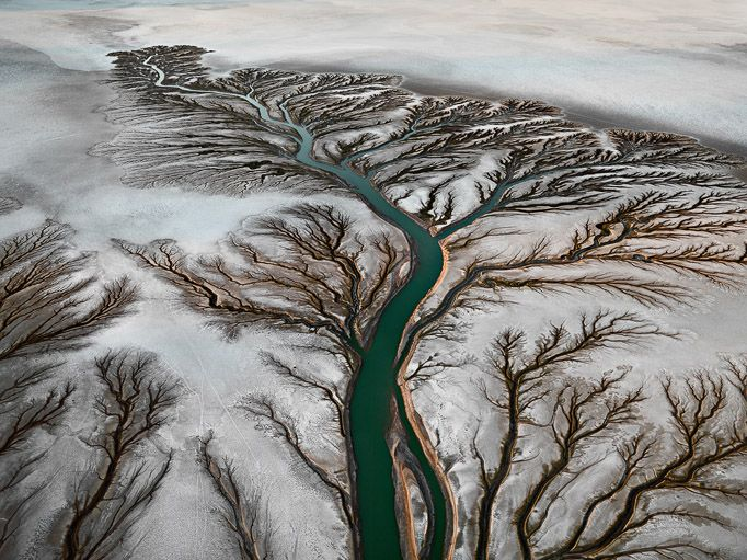 Epic Photos Expose Mankind's Uneasy Relationship With Water | Colorado River Delta, near San Felipe, Baja, Mexico, 2011  Edward Burtynsky  | WIRED.com