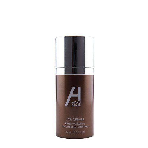 """Alford & Hoff Eye Cream - Sirtuin-Activating Performance Treatment 0.5 fl.oz. by Alford & Hoff. $48.00. Anti-aging """"SIR2stac Complex"""" with Vitamin C, peptides, and rare Lavender extracts.. Eliminate dark circles and puffiness.. Enhances firmness.. Delivers maximum penetration for a brighter tone.. Minimizes the appearance of fine lines and wrinkles.. This rich eye treatment combines the proprietary anti-aging """"SIR2stac Complex"""" with Vitamin C, peptides, and rare Lav..."""