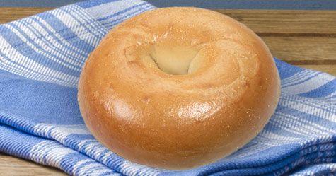 Plain Bagel | Honey Dew Donuts