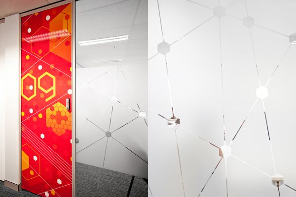 AICT Office Environmental Graphics on Behance