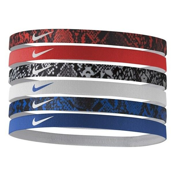 Nike Sport Headbands ($15) ❤ liked on Polyvore featuring accessories, hair accessories, head wrap headband, sport headbands, headband hair accessories, nike and nike hairband