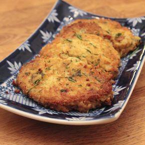 Kikärtsbiffar med citron och vitlök - Vegetariska och superenkla att göra