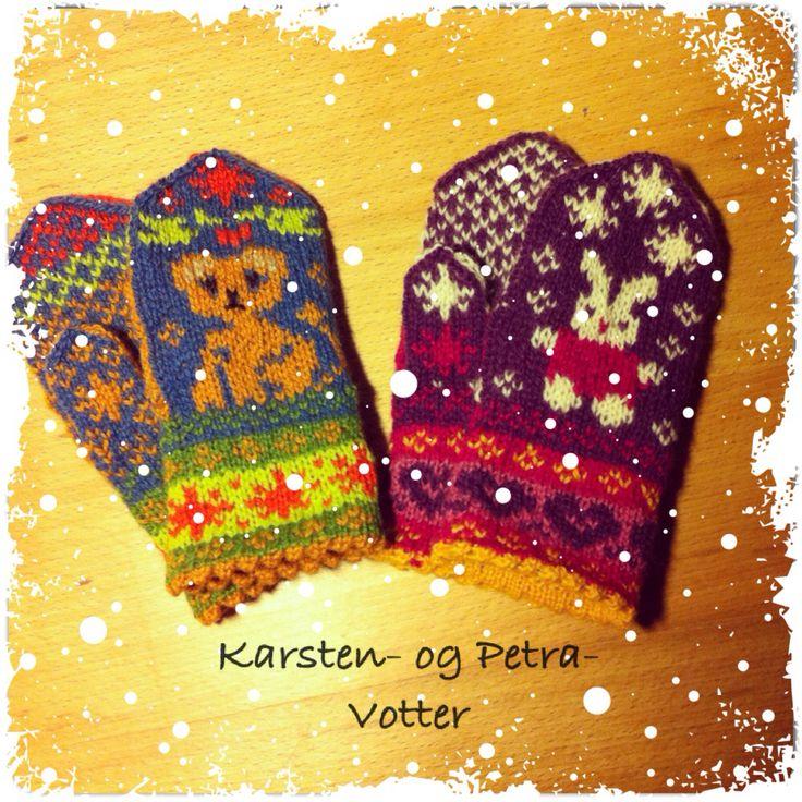 https://bonzostrikk.wordpress.com/2015/01/15/karsten-og-petra-votter-childrens-mittens/