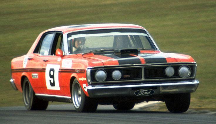 https://flic.kr/p/bWyChh | Moffat_088 | Oran Park 1973 ATCC. Allan Moffat's Ford Falcon GTHO Ph.III. Photo: Doug Eagar