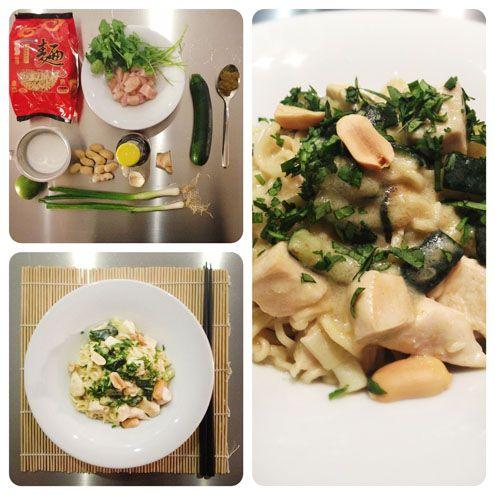 Diamo il benvenuto su HonestCooking.it a Lorenzo e Biancamaria, che ci presentano una delle ricette che preparano più spesso: Noodle con pollo al curry.