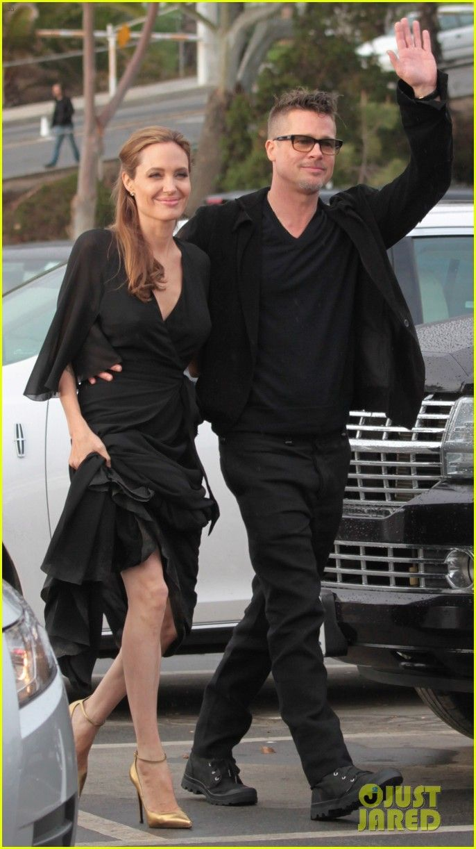 Angelina Jolie Trips on Her Dress After the Spirit Awards 2014 | 2014 Independent Spirit Awards, Angelina Jolie, Brad Pitt Photos | Just Jared