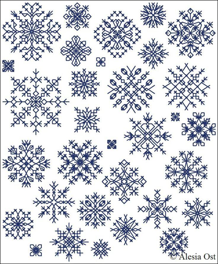 Inimitable Snowflakes