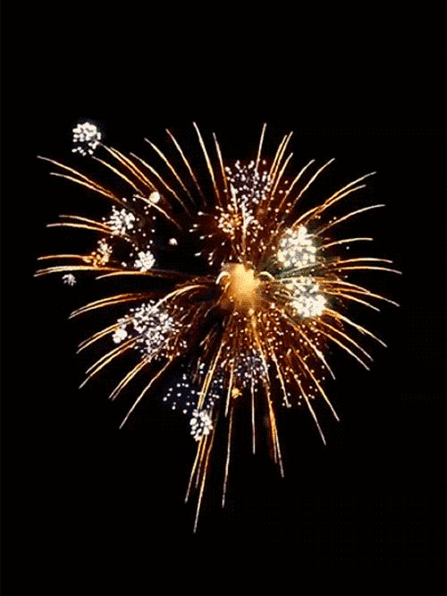 Happy New Year Colorful Fireworks Images, Pictures....